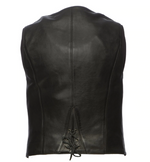Load image into Gallery viewer, Zip Leather Vest