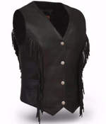 Load image into Gallery viewer, lightweight Leather Vest