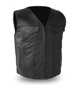 Badlands Leather Vest