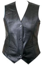 Load image into Gallery viewer, BRAIDED LEATHER VEST