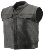 Load image into Gallery viewer, Leather Club Style Vest