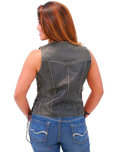 Leather Vest For Women