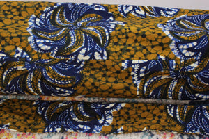One-of-a-kind, Hand-Made African Print Cotton Yoga Mat Bag - Guh Deh