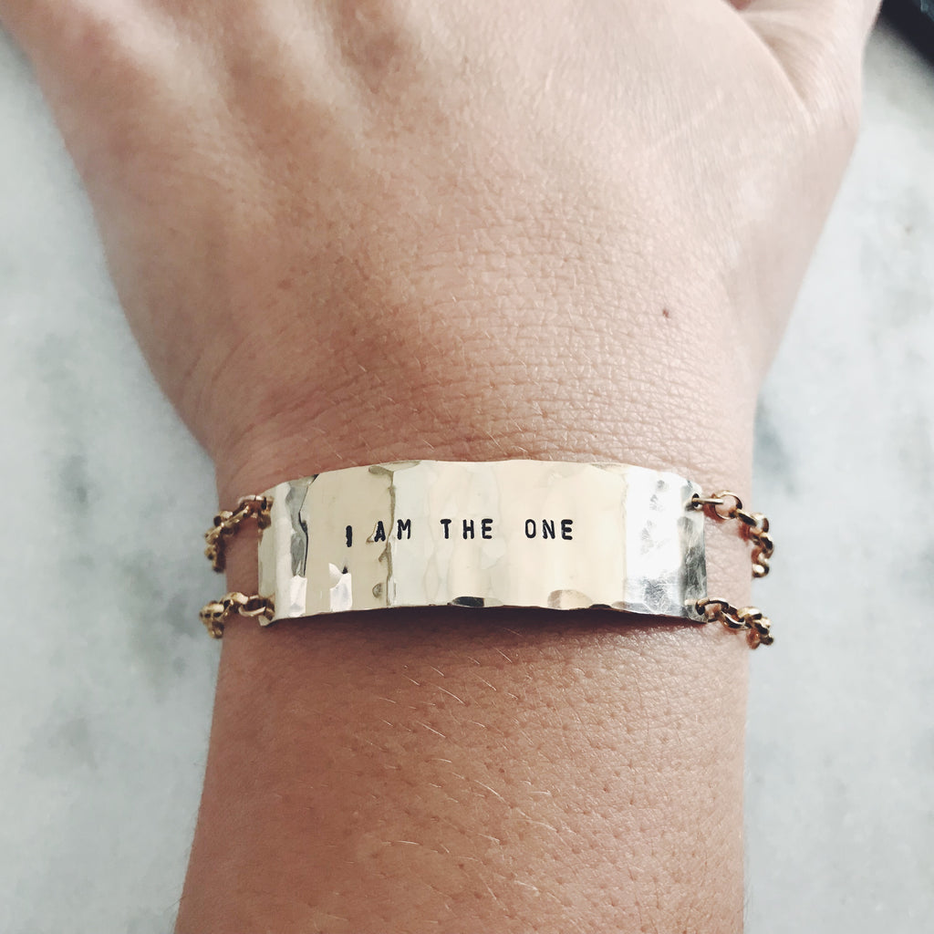 I Am the One Bracelet - BAD BAD Jewelry