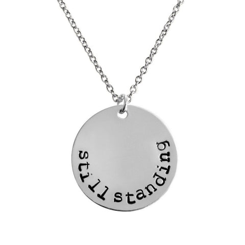 Still Standing Coin Necklace - BAD BAD Jewelry