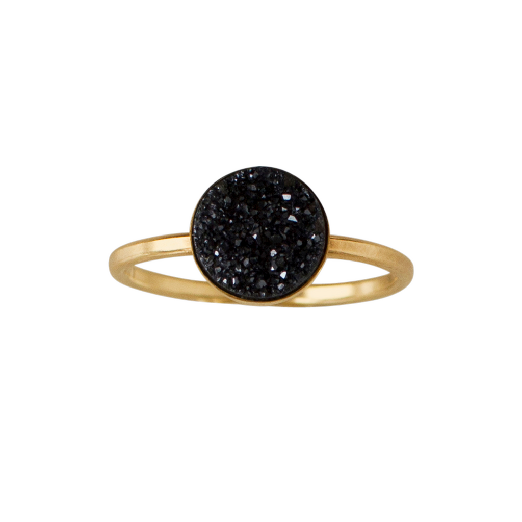 druzy ring by bad bad jewelry