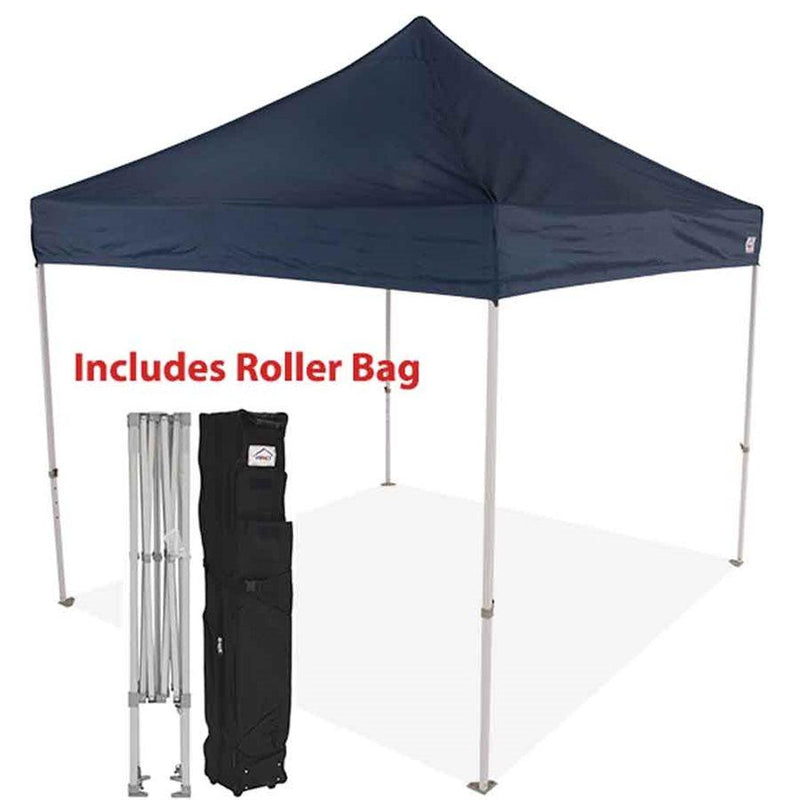 10x10 Industrial Aluminum Pop up Canopy Tent with Roller Bag - ML