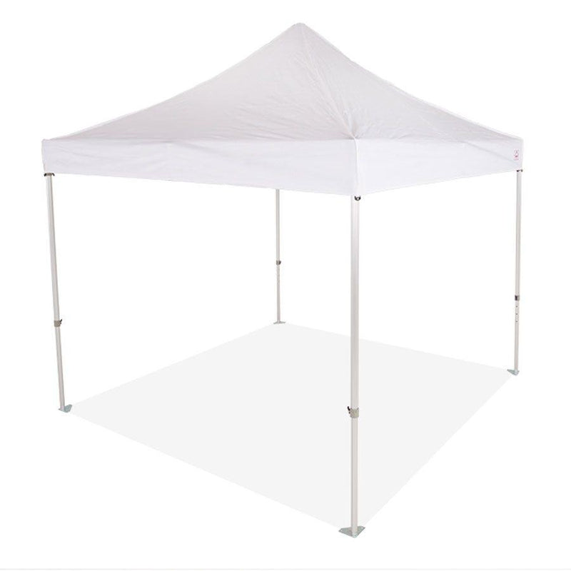 10x10 Super Duty Aluminum Pop up Canopy Tent with Roller Bag - M