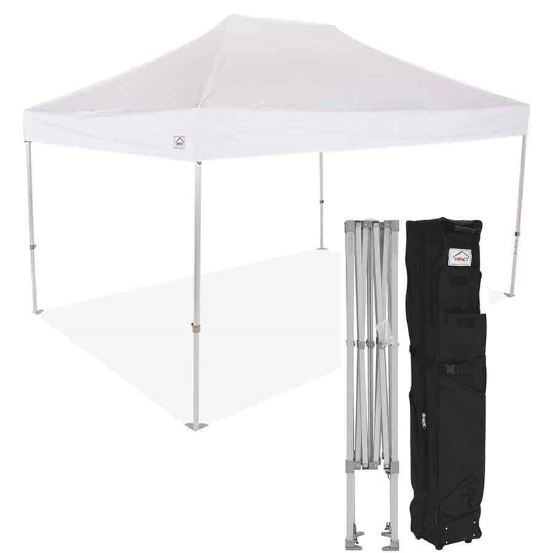 10x15 Super Duty Aluminum Pop up Canopy Tent with Roller Bag - M