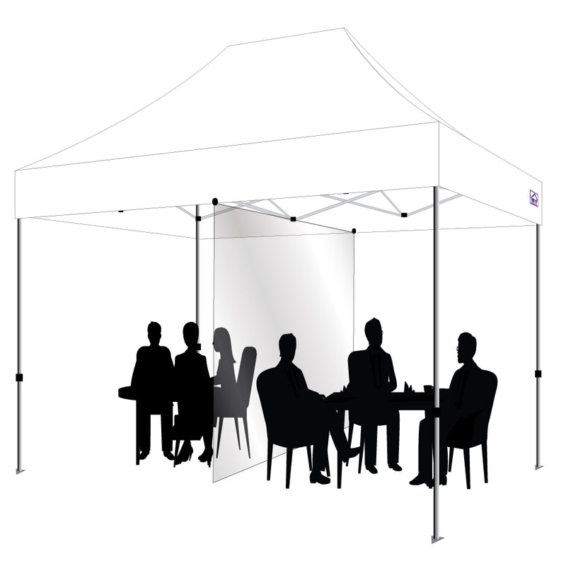 10X15 Canopy w/Divider