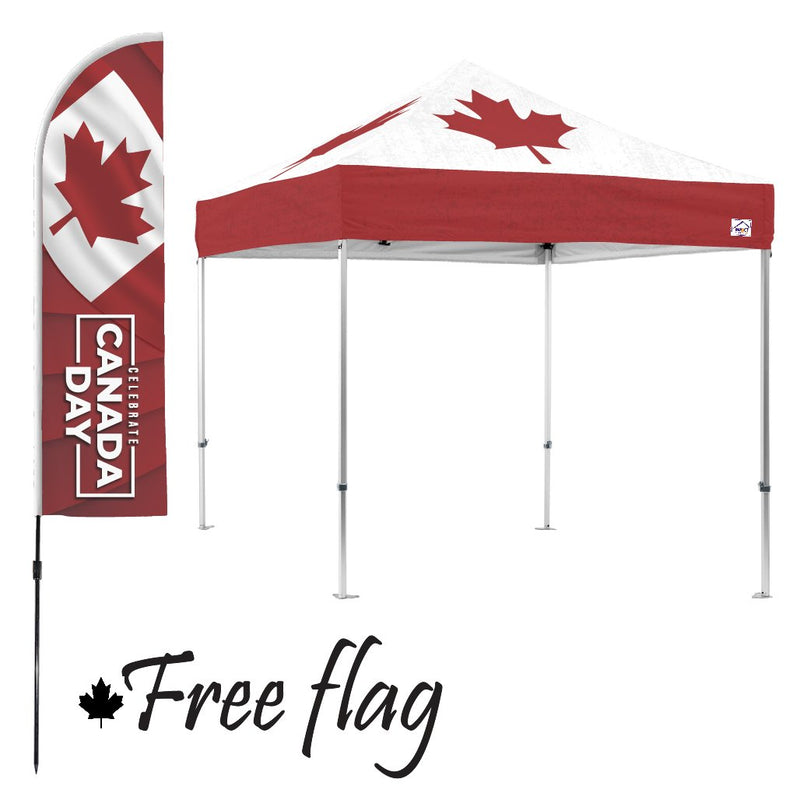 Maple Leaf 10x10 Canopy Kit (with FREE Flag $118.67 value)