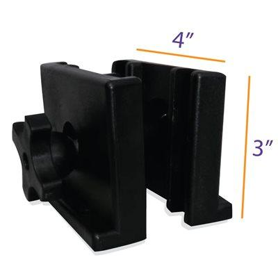 Flag / Banner Pole Bracket for Pop up Canopy Tent Leg