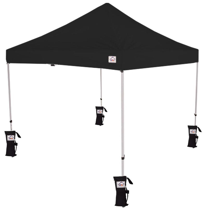 10x10 Commercial Grade Pop up Canopy Tent with Weight Bags - Evento