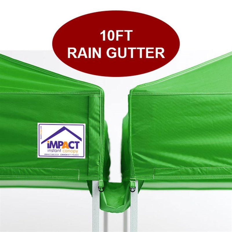 10' Pop Up Canopy Rain Gutter