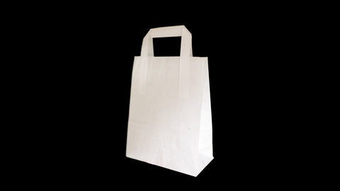 Small White SOS Carrier 177x254x215mm