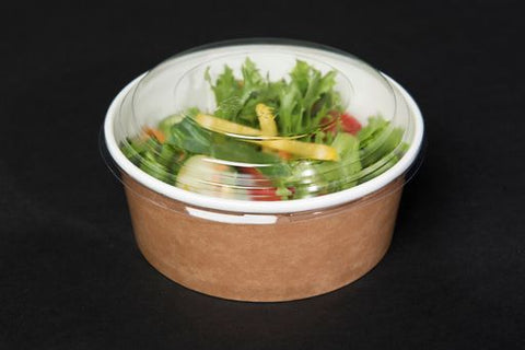700ml Round Kraft Multifood Pot & Lid