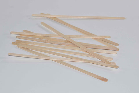 190mm Wooden Stirrers