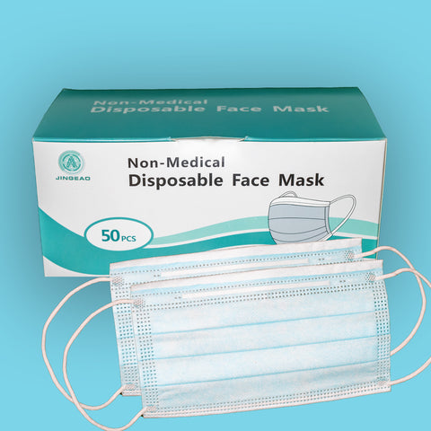 3 Ply Single Use Disposable Face Mask