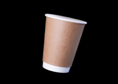 12oz Kraft Paper Double Wall Hot Cup