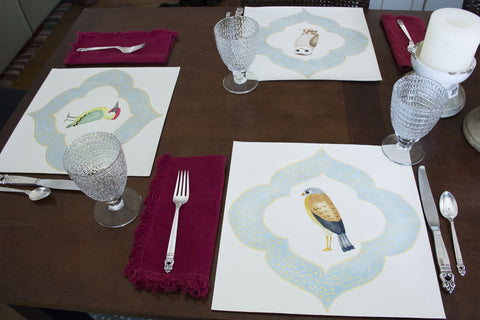 Bird Whimsy Placemat Series