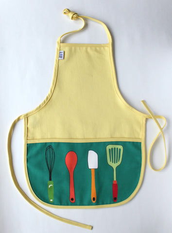 Retro Yellow ECO-Apron