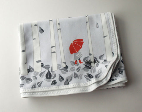 Birch Tree Organic Baby Blanket