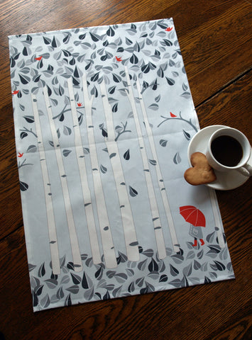 Birch Tree Tea Towel