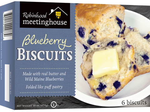 Robinhood Meetinghouse Blueberry Biscuits