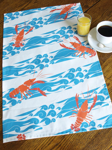 Crustacean Tea Towel