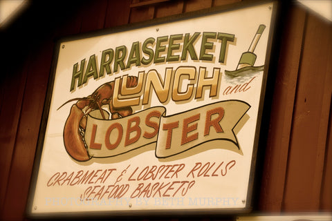 Harraseeket Lunch and Lobster 8x10 Color Photograph