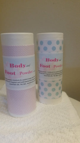 His and Hers Body and Foot Powder