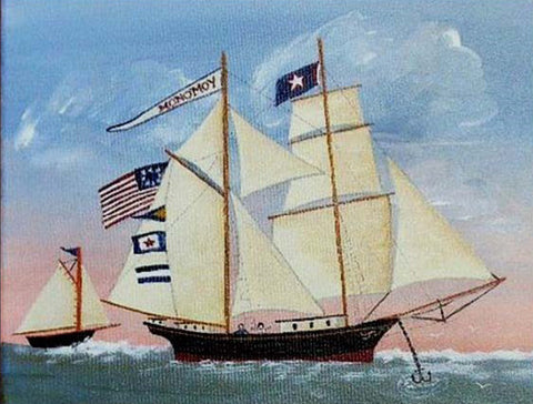 "Monomoy - Giclée Print on Archival Stretched Canvas 11"" x 14"""
