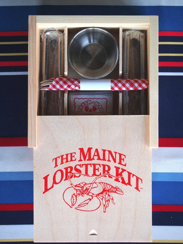 Lobster Kit in Handmade Wooden Box