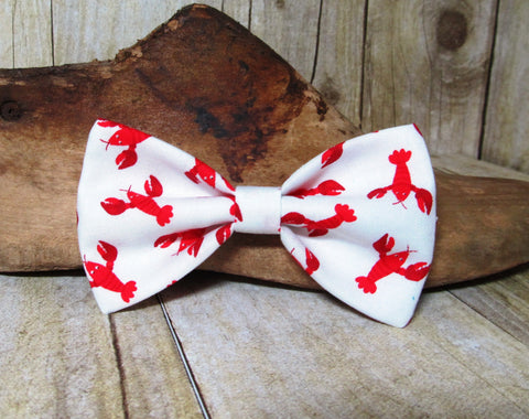 Red Lobsters Pre-Tied Bow Tie