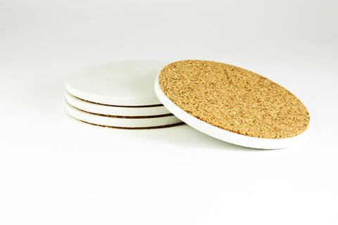 CULINARIUM ROUND COASTERS - SET OF 4