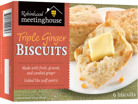Triple Ginger Biscuits