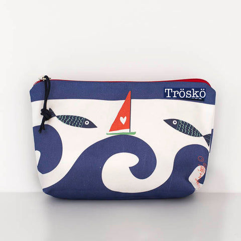 Wild Waves Zippie Bag