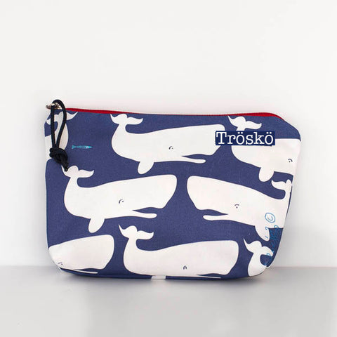 Fun Whales Zipper Bag