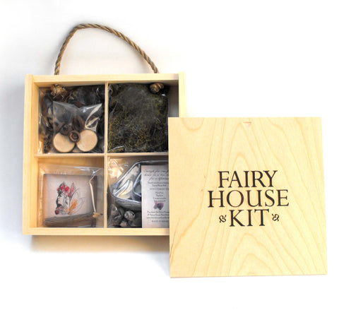 Fairy House Kit by Liza Gardner Walsh