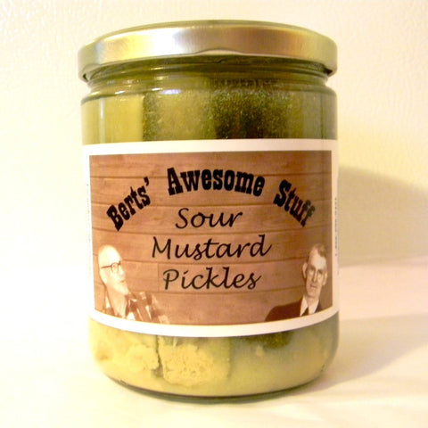 Sour Mustard Pickles