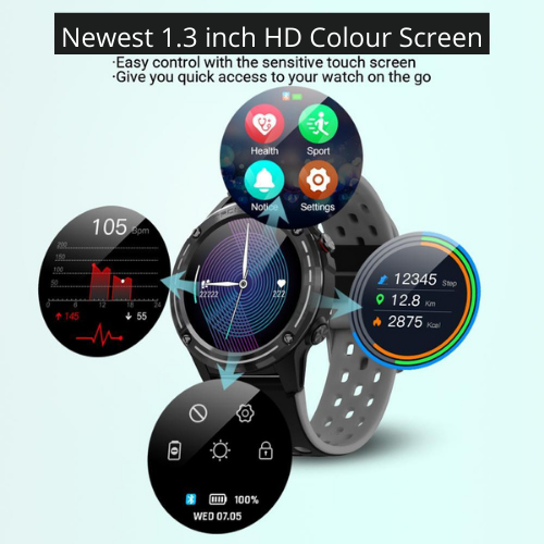 fuchusi fitness smart watch with all features