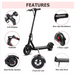 IEZWAY EZ8 350W ELECTRIC SCOOTER  FEATURES
