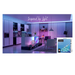 fuchusi rgb strip led light in living room