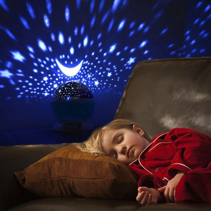 Fuchusi helios star LED projector light child sleeping