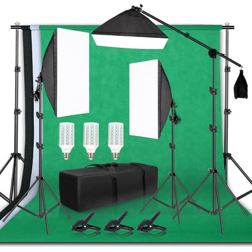 fuchusi professional photography studio kit