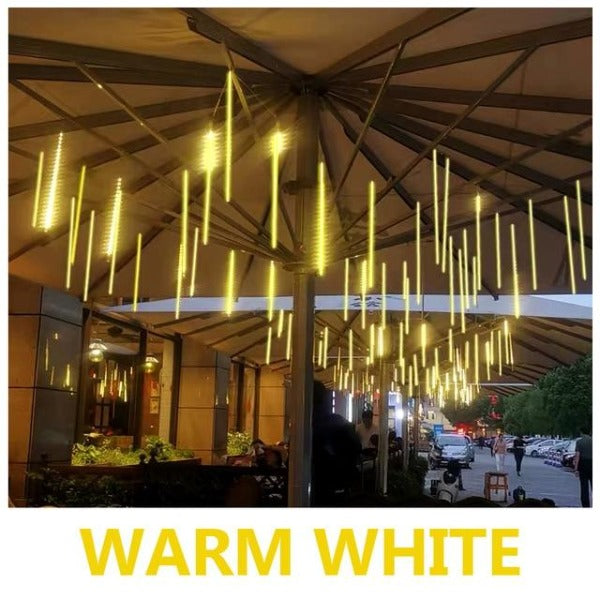 Fuchusi luna meteor shower outdoor warm white strip light