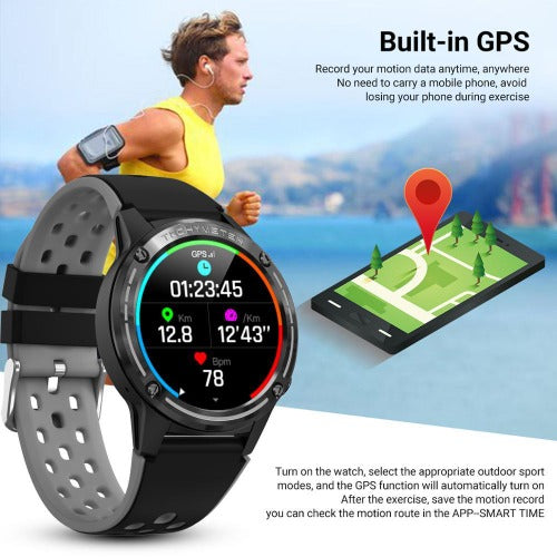 fuchusi fitness smart watch with all features and app