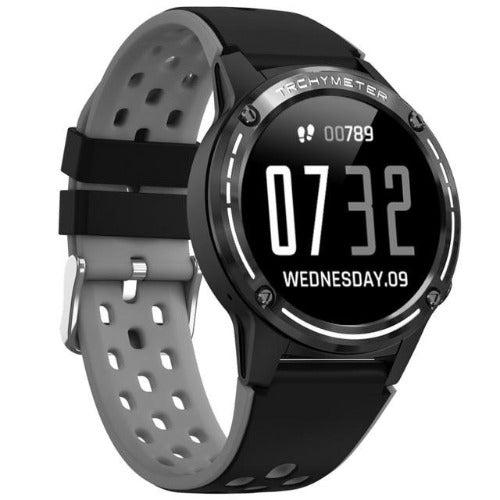 fuchusi fitness smart watch in black