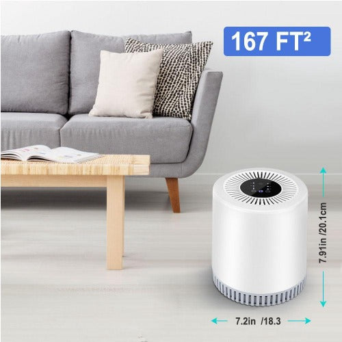 Fuchusi Rigo AirPura Home HEPA 3-layer filter  Air Purifier