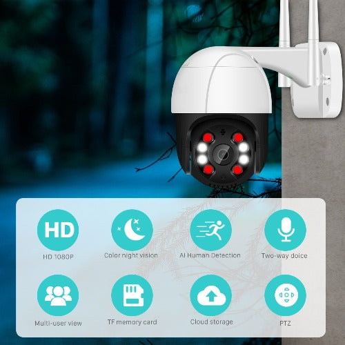 fuchusi ptz ip wifi outdoor camera